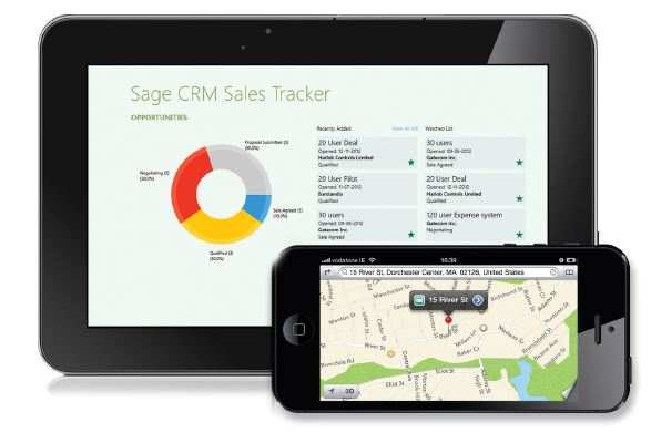 Sage CRM Sales Track